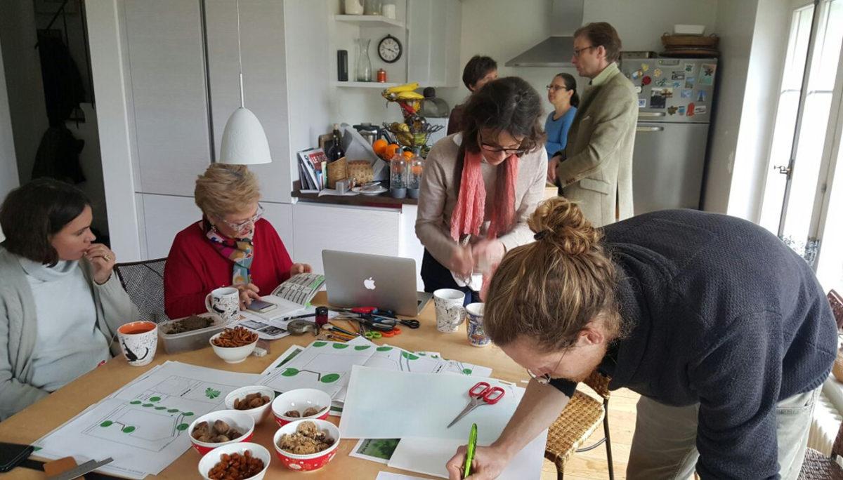 Deux ateliers de design pour esquisser le Jardin des Liaudes